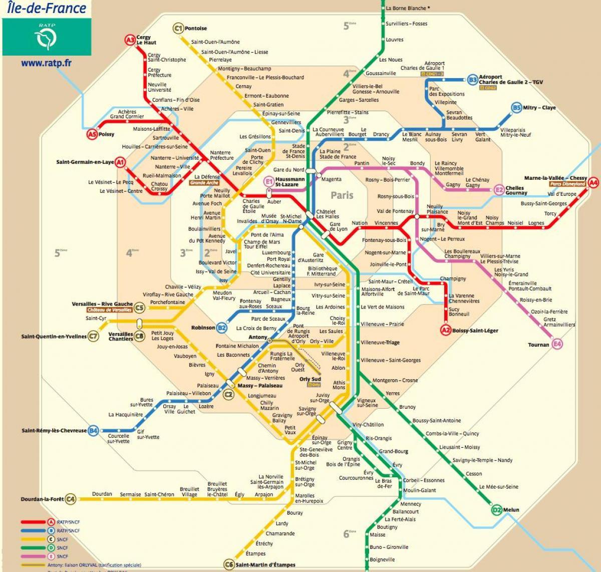 Paris metro map Routenplaner - Paris metro-Karte und-Planer ...