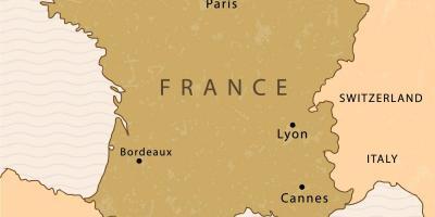 Toulouse Karte.Paris Map Karten Paris Ile De France Frankreich