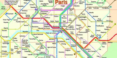 Paris Metro Zonen Karte.Paris Map Karten Paris Ile De France Frankreich